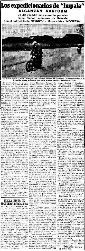 """50 aniversario """"Operación Impala"""" Imnknk"""