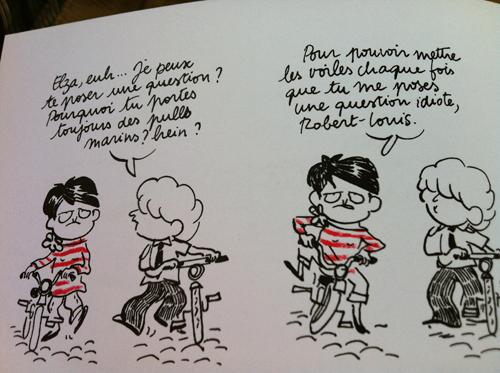 Elza de Didier Lévy et Catherine Meurisse Iqyid4