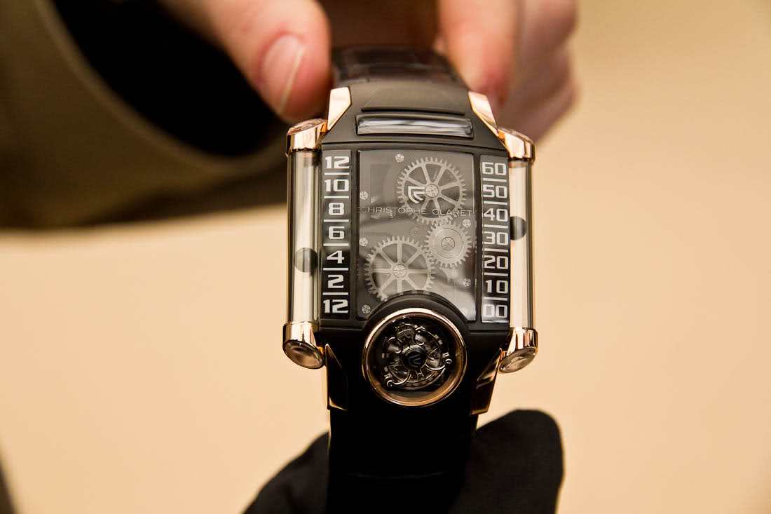 La plus belle montre vue à Baselworld, une Zenith !! Pc46g