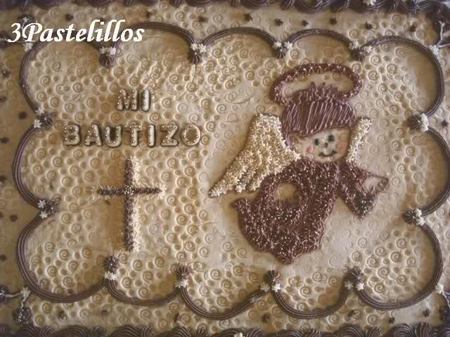 Mi Pastel De Bautizo