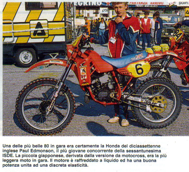 Motos TT y Cross de 80 cc Vxdte