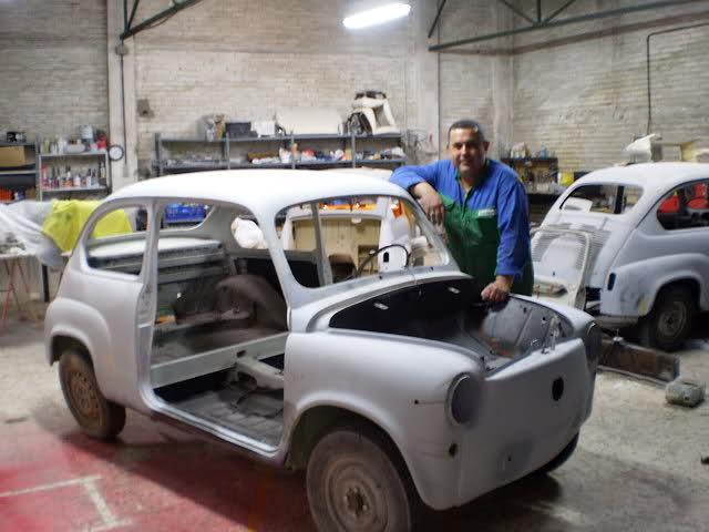 Restauración Seat 600 E 1ª serie. Wjjl92