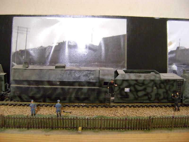 Panzerzug BP 32 en vrai et en scratch. 11razuu