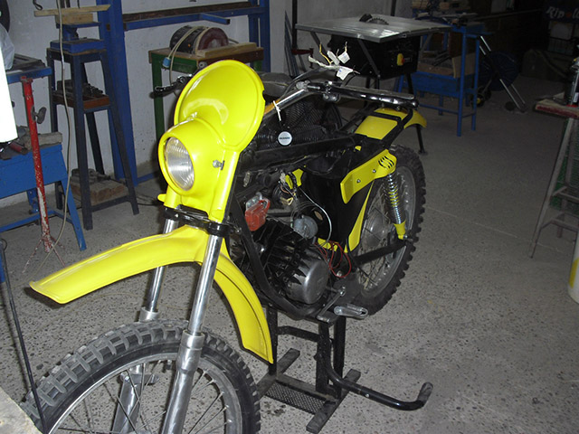 puch - Puch Minicross TT 1ª Serie * Josepe 16adt2t