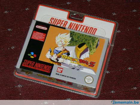 Topic des jeux super nintendo sous blister rigide 20ia1b5
