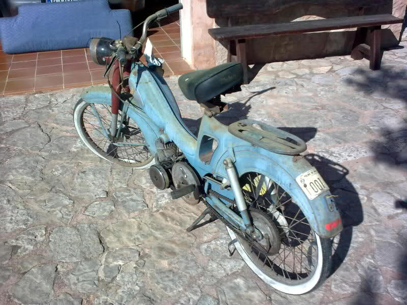 Restauración Mobylette AV-65/68 20kua8k