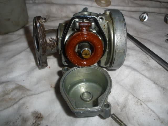 Limpieza y despiece carburador Dell'Orto SHA 257j78z