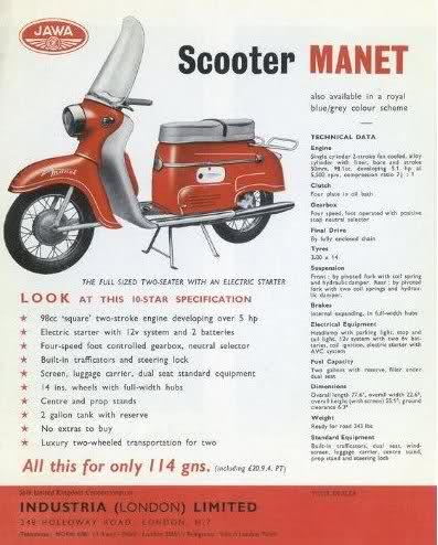 Mi nueva Scooter Manet 125 25fjbqc