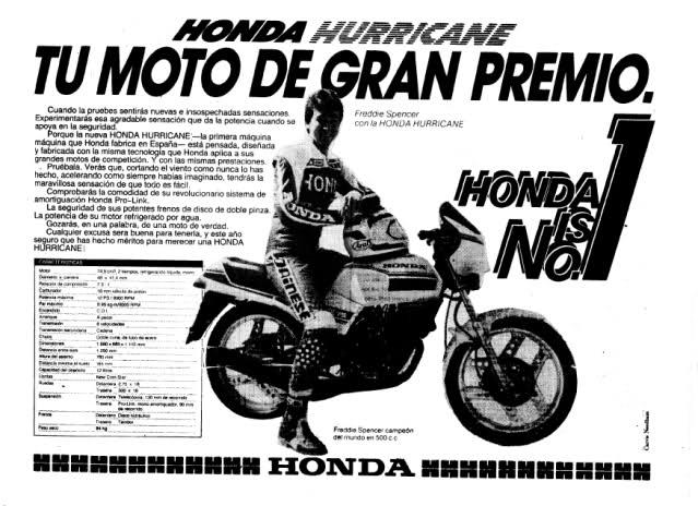 Honda MBX 75 Hurricane 28u1jt1