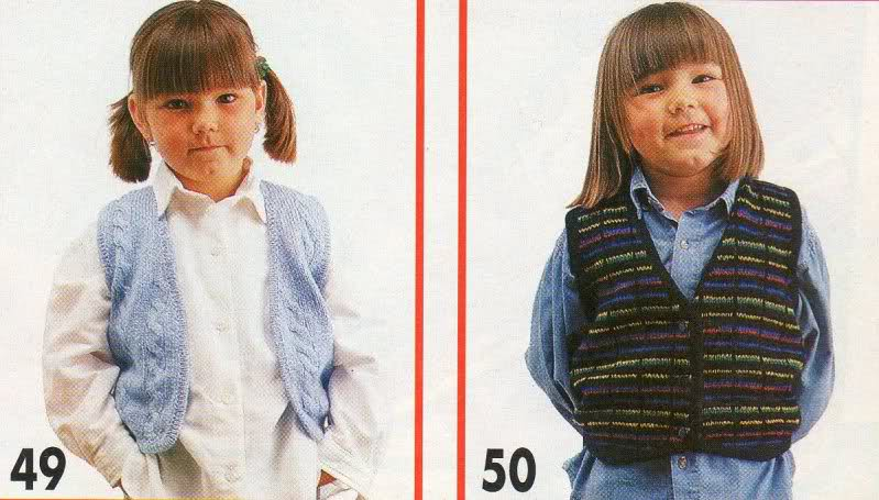 Chaleco niña de 6 años, pero es talla 10-12... o 2aadabr
