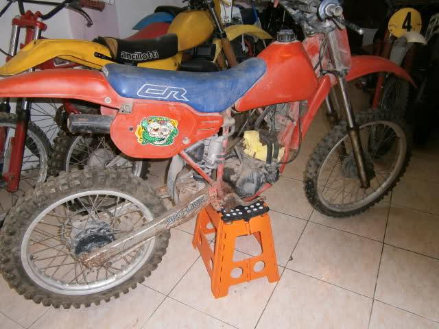 Mi nueva Honda CR 80 RG 1986 2d1nscn