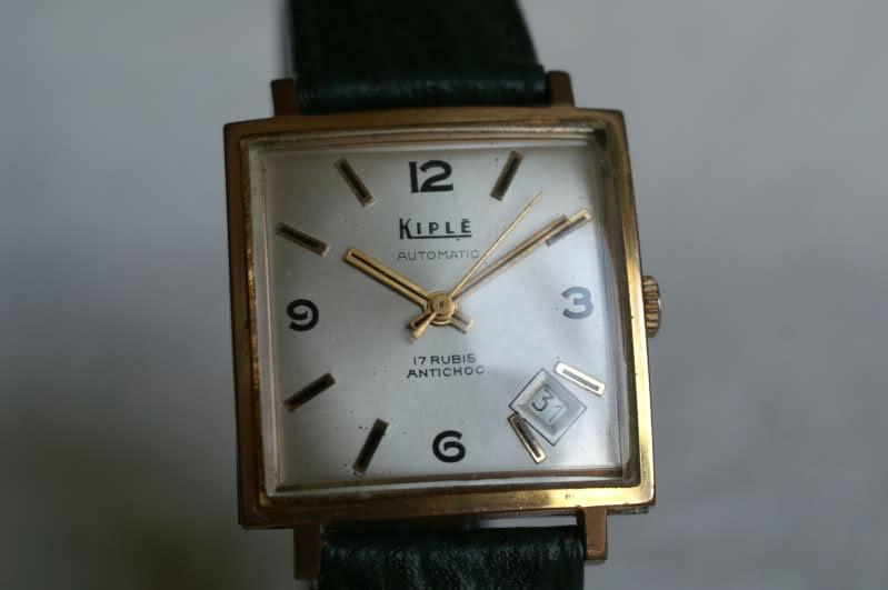Kiplé montres vintage françaises dans l'ombre des Lip et Yema 2epoxoz
