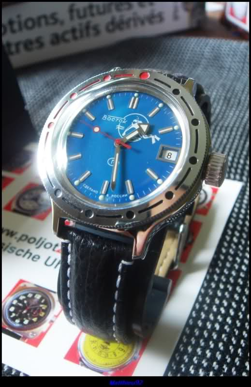 Wostok Amphibia Automatic Diver 2h3ss60