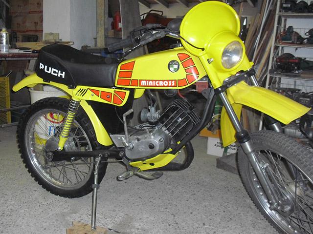 puch - Puch Minicross TT 1ª Serie * Josepe 2lk70px
