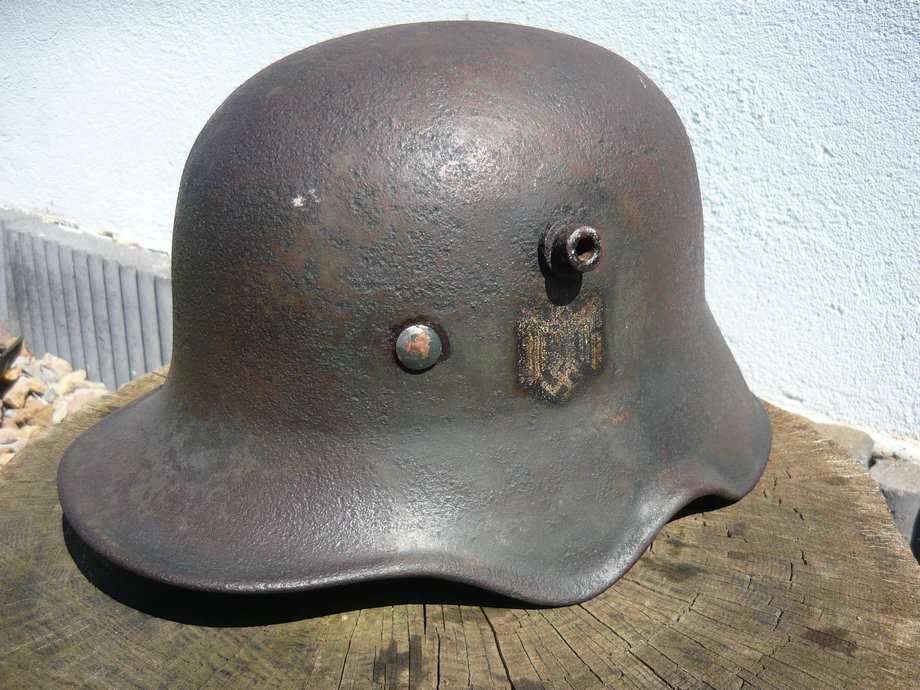 casque M18 à échancrures reconditionné 1940  2lrvuw