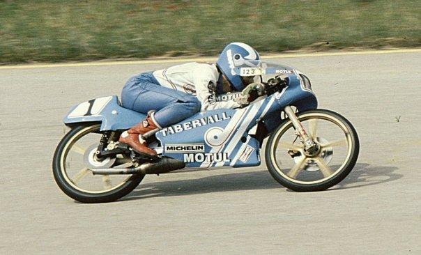 Réplica Bultaco 50 MOTUL Carmona 1982 2mfg553