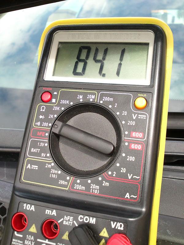 [Brico J] - Comprobar calentadores con polimetro. 2mx23co