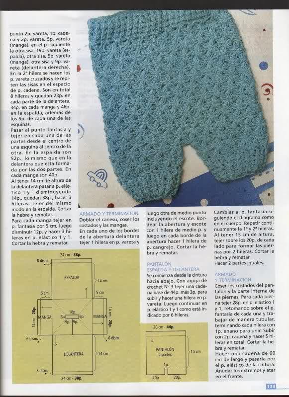 Camisetitas y bombachos para bebés para el verano (lomargo) 2r53sxj