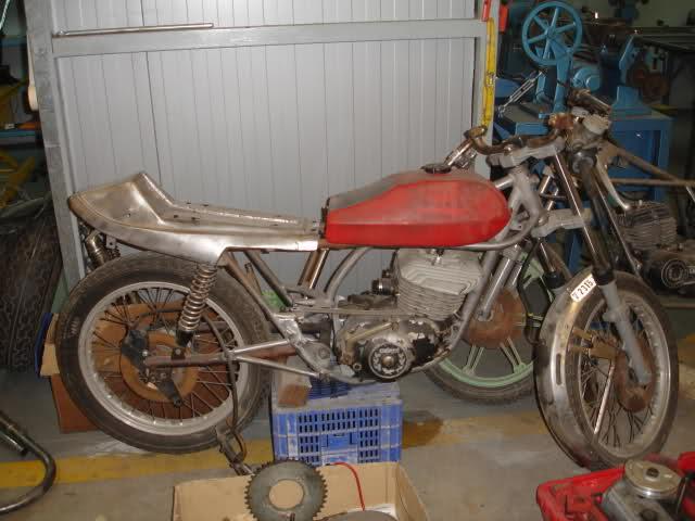 Montesa 250 cc. para circuito 2s4ns