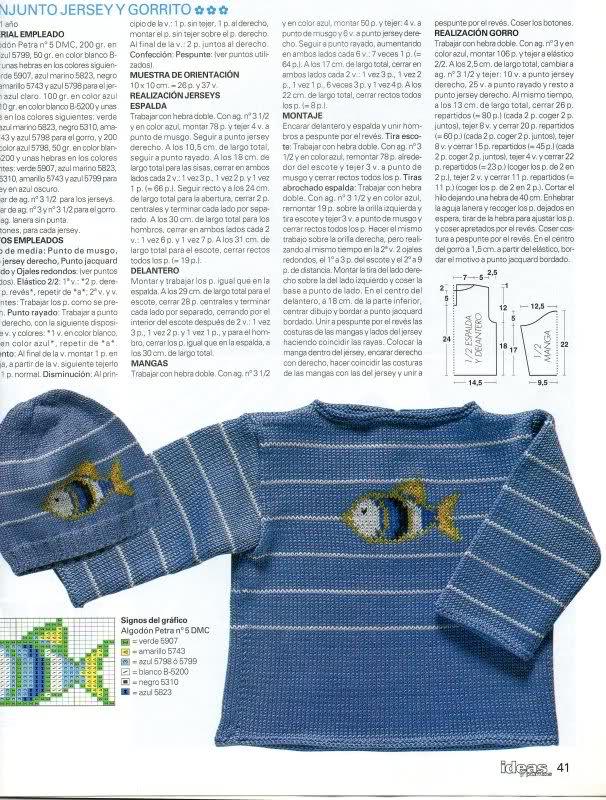patrones - Patrones de Jerseys para bebés (6 meses) solicitado por Matilde 2ufshut