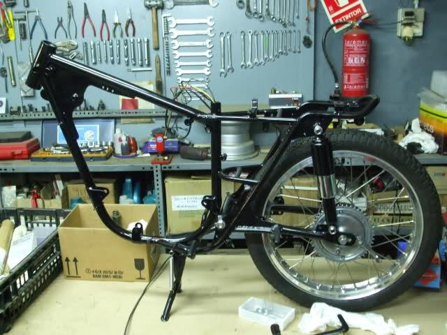 Restauración Bultaco Tralla 101 2v86f5h