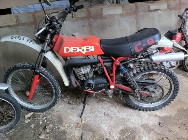 Dos Derbi TT8 para recuperar 2wcmm89