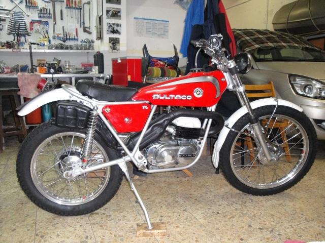 Mi Bultaco Sherpa T 312hh20