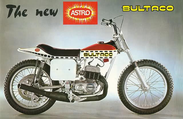 La Bultaco Astro 3320zdd