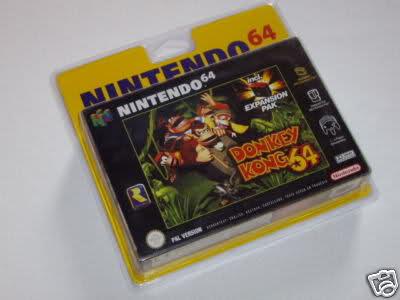 Topic des jeux nintendo 64 sous blister rigide 33v0ryx