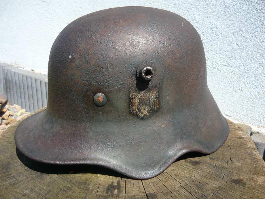 casque M18 à échancrures reconditionné 1940  34rsrko