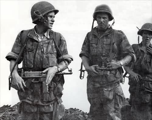 """CABIRO Bernard dit """"Le Cab"""",chef de bataillon 4r83sw"""