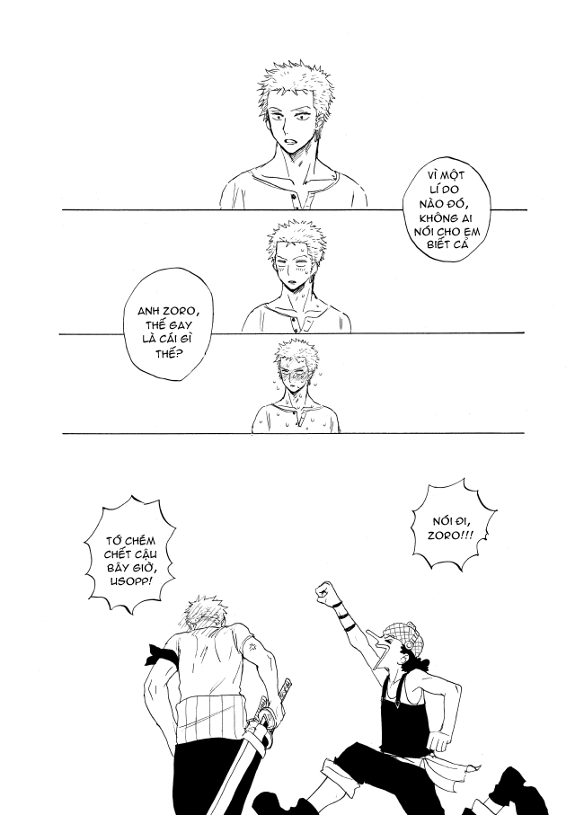 [Doujinshi] Chocolate cake confessions - Happy bithday Zoro ^^ 5xl5x1