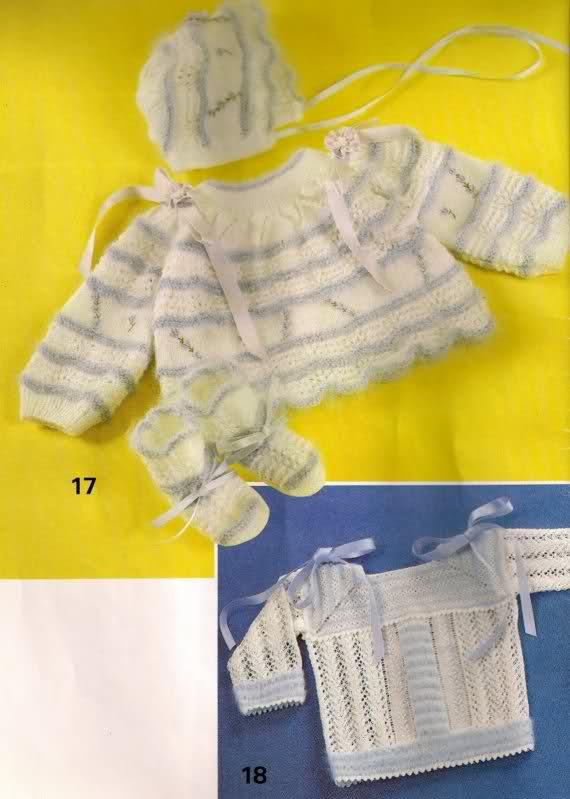 Chambritas para bebés (patrones para Cony) 5zif45