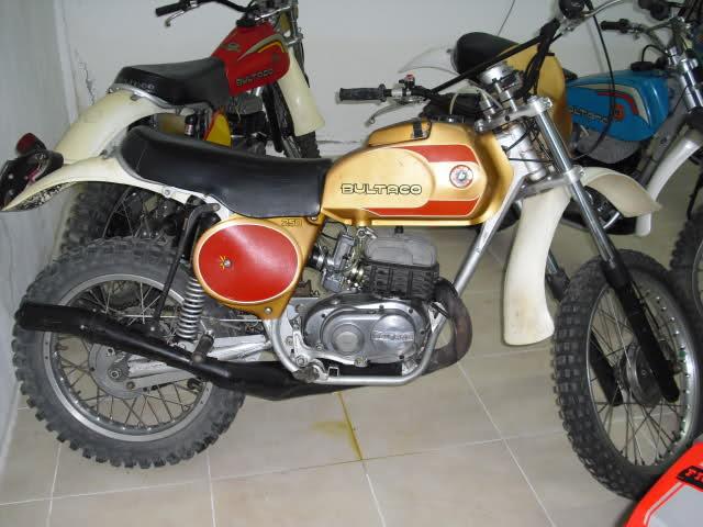 Las Bultaco Frontera 6z8ubb