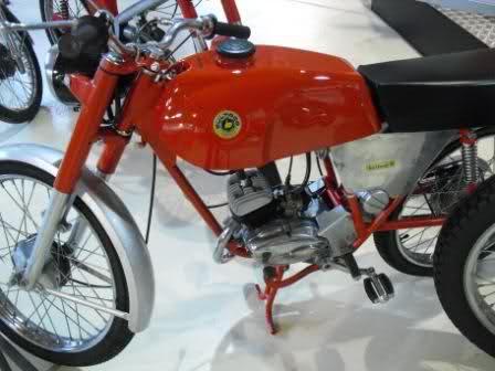 Bultaco 49 y 49 GT de carretera 96drts