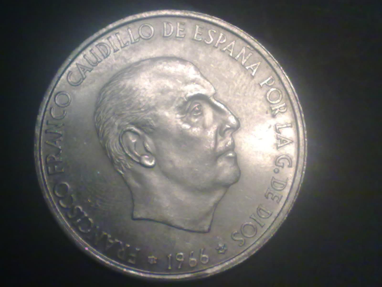 100 Pesetas 1966 (19-69). Francisco Franco. ¿Estrella retocada? Anj6tz