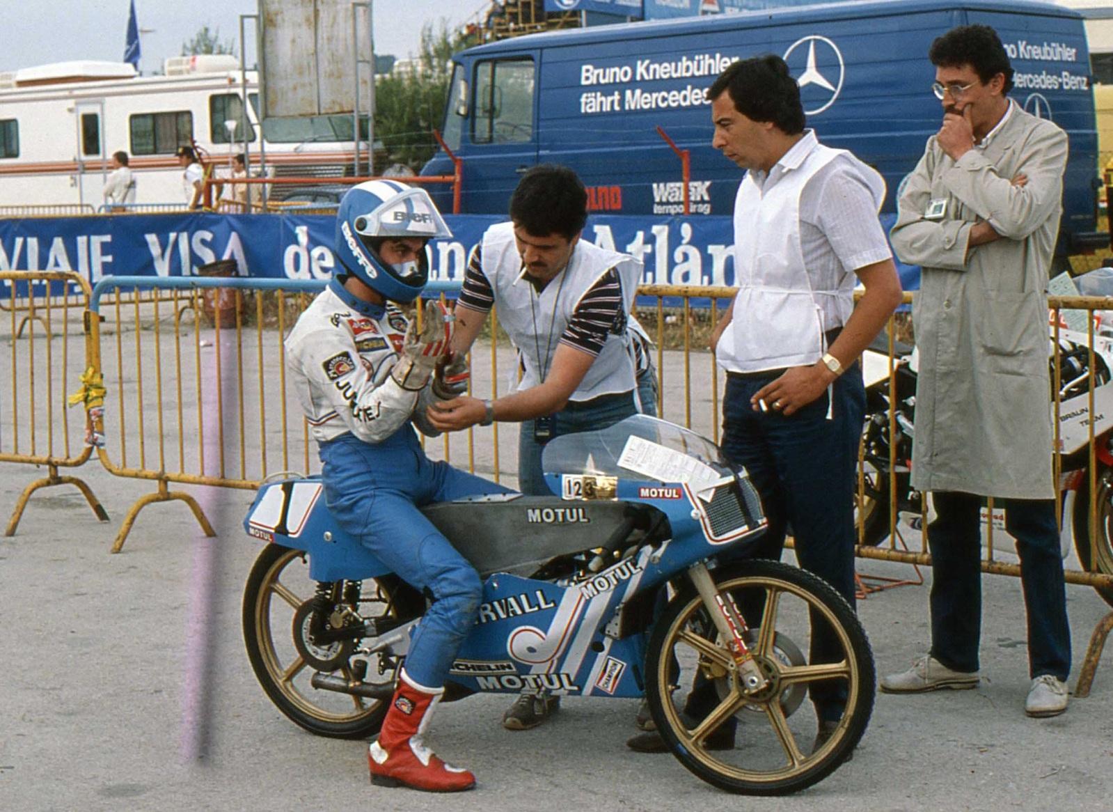 bultaco - Réplica Bultaco 50 MOTUL Carmona 1982 Au8ca9