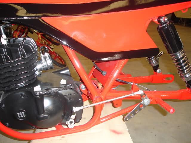 Montesa 250 cc. para circuito Dbr09y