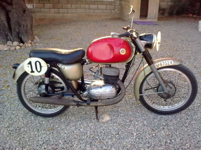 Fotos Bultaco Tralla 101 de 1959 conservada Fxfoyd