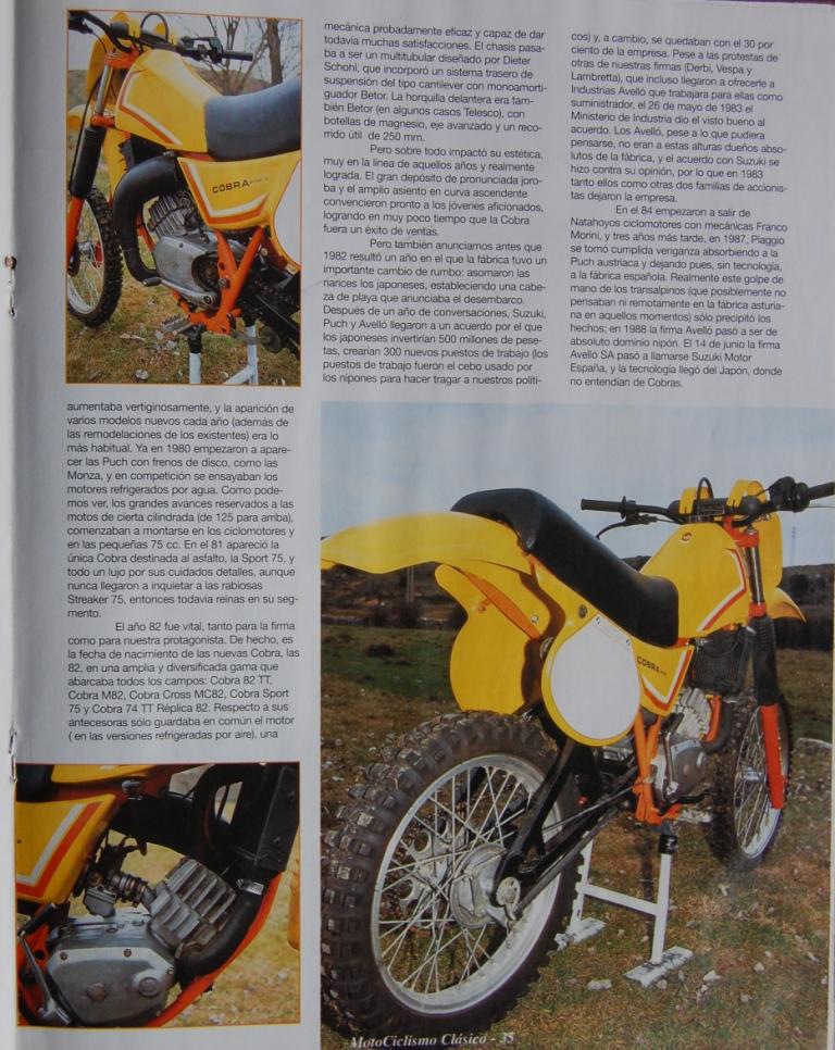 Puch Cobra M-82 C Agua - Prueba En Motociclismo Clásico Jkamie