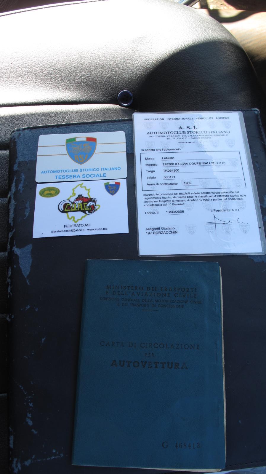Fulvia 1.3S Rallye ==- Valutazione -== O8ugpk