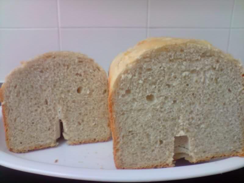 Mi primer pan con panificadora del lidl