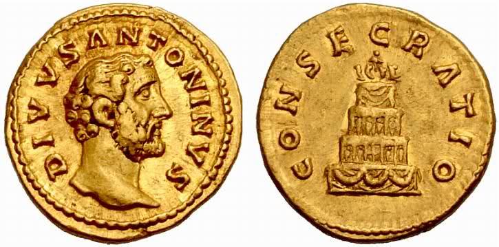 Denominación de monedas en la antigua Roma: El Alto Imperio. Otoisi