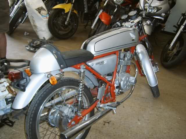 Honda Dream 50 R R2l4dk