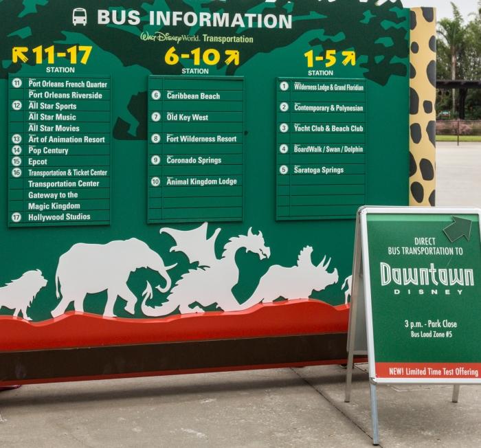 Park Bus Stop Signs Wbqx3c