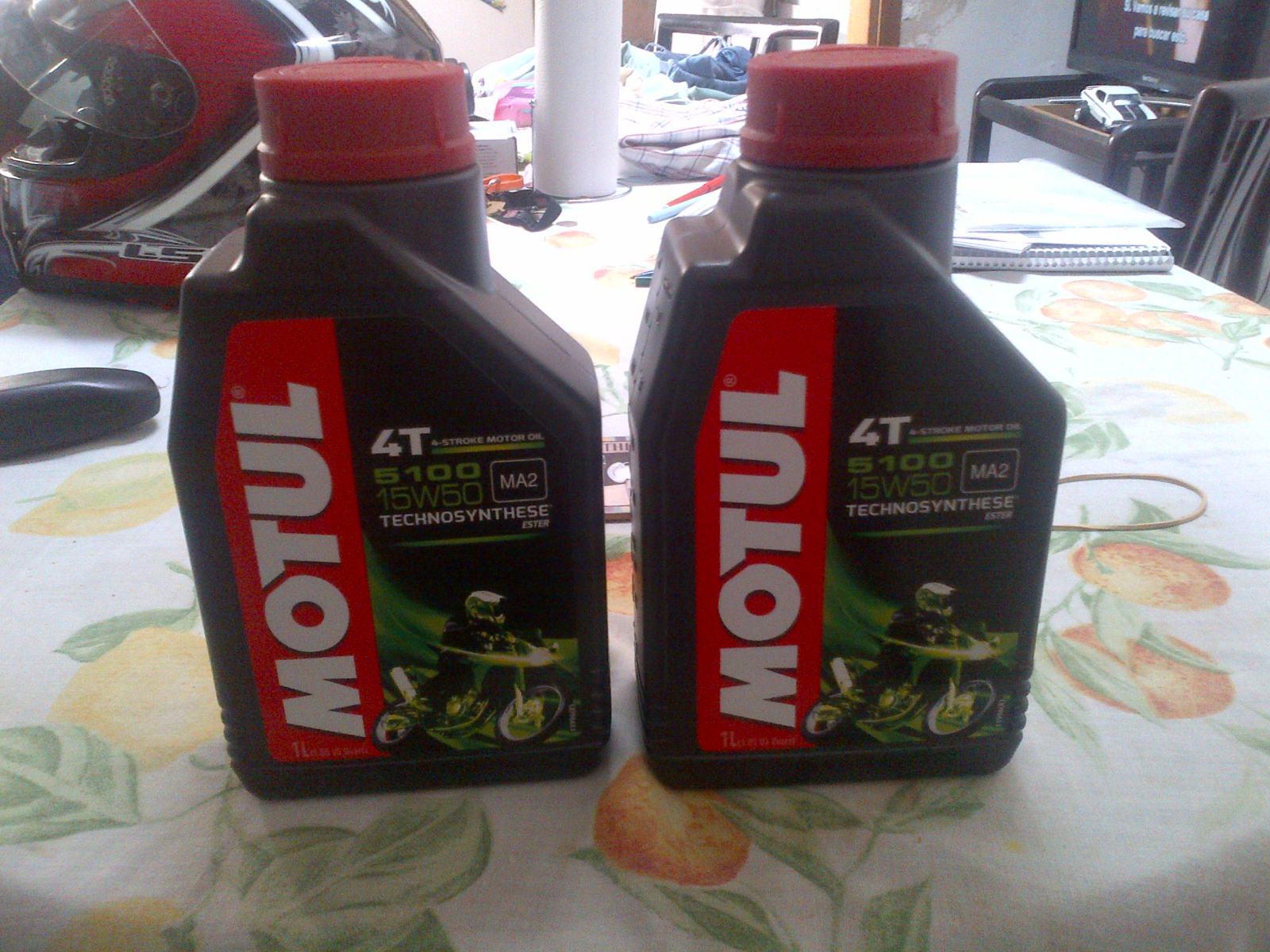 Primer cambio de aceite y filtro Wcbwaa