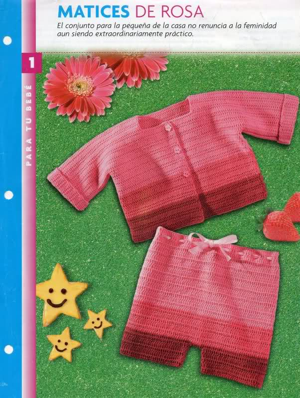 chaquetitas bebe - Patrones para realizar chaquetitas de bebés (Matilde) Zmfb6f