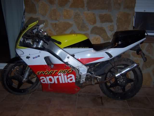 Mi Aprilia Futura 125 Sport Pro 107to28