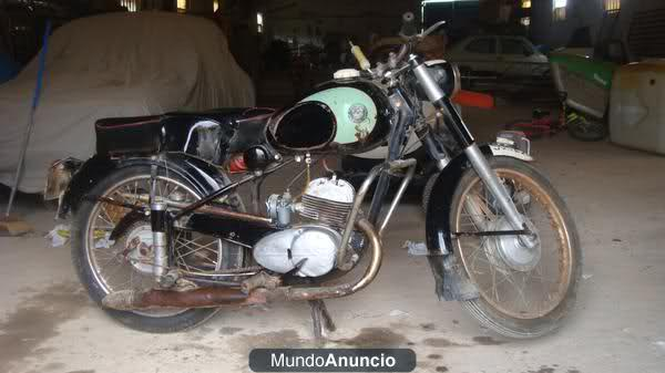 Derbi Cross 125 - 1959 * Rafbultaco 10hmv51