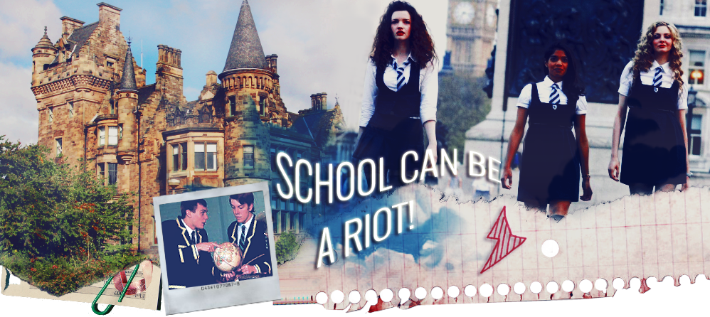 School can be a riot!